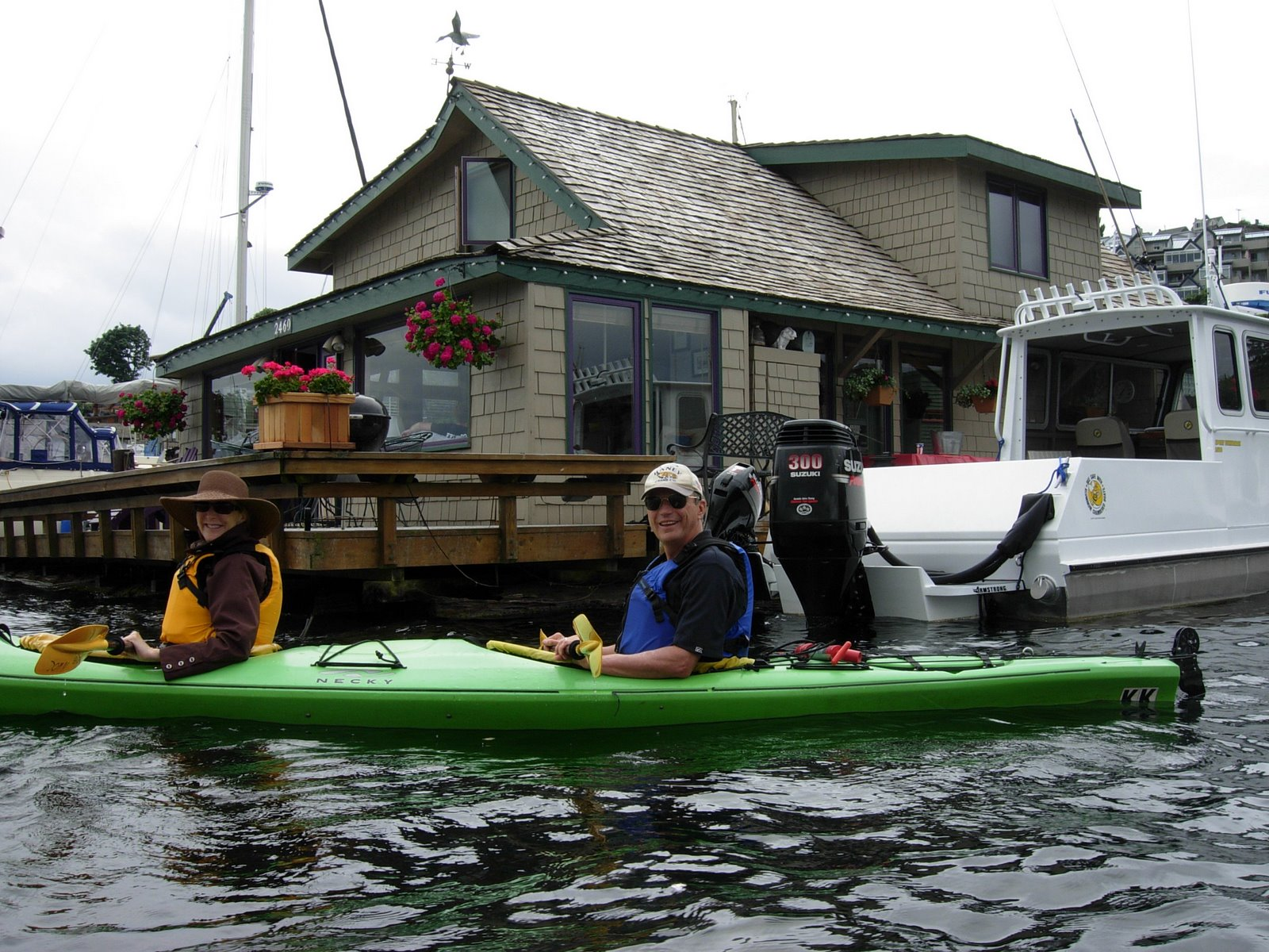 Seattle Kayak At Lake Union Where Are Sue Mike