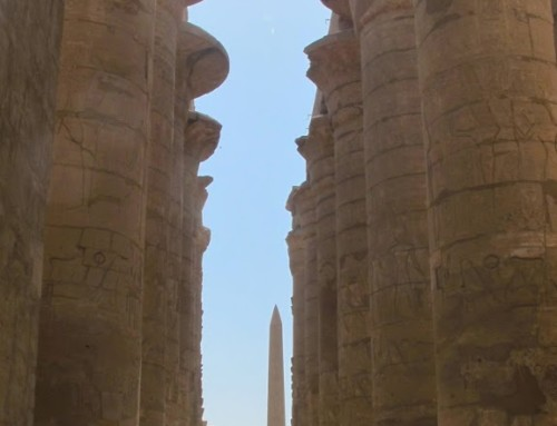 In Awe at Luxor:  Karnak Temple