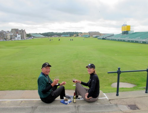 Mecca for golfers: St. Andrews, Scotland