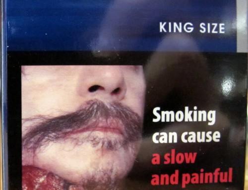 Scottish cigarette warnings