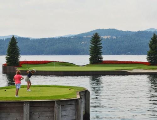 Golfing in Coeur D'Alene