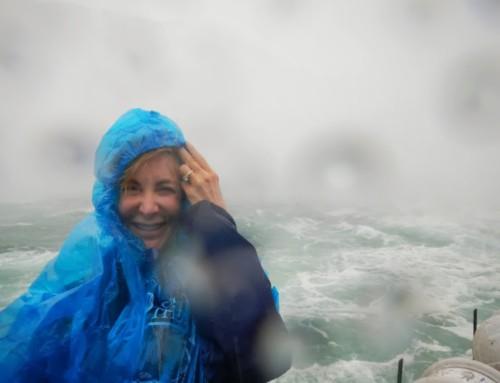 Getting WET in Niagara Falls, Canada
