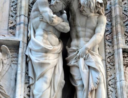 Old Milan and Leonardo