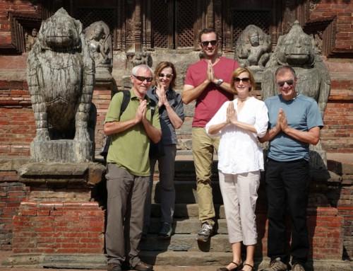Feeling spiritual in Nepal