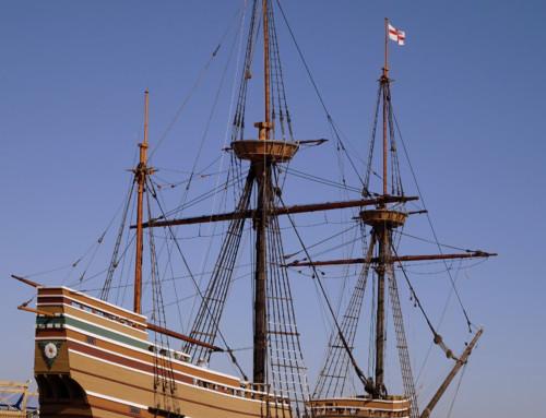 Mayflower II at Plymouth, MA