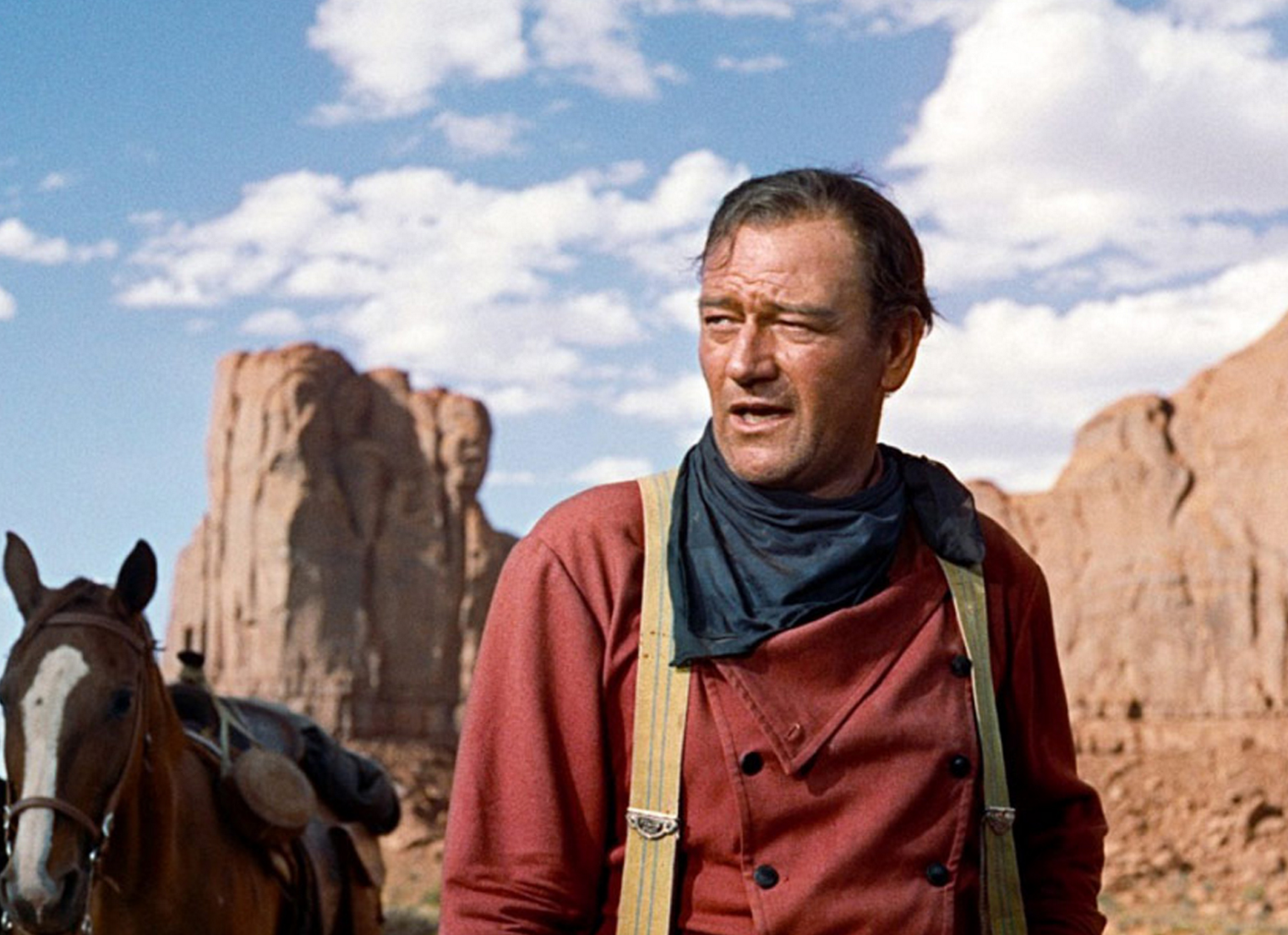 "The Duke, John Wayne, made 5 movies here.  The American Film Institute voted ""The Searchers"" the ""Greatest Western of All Time""."