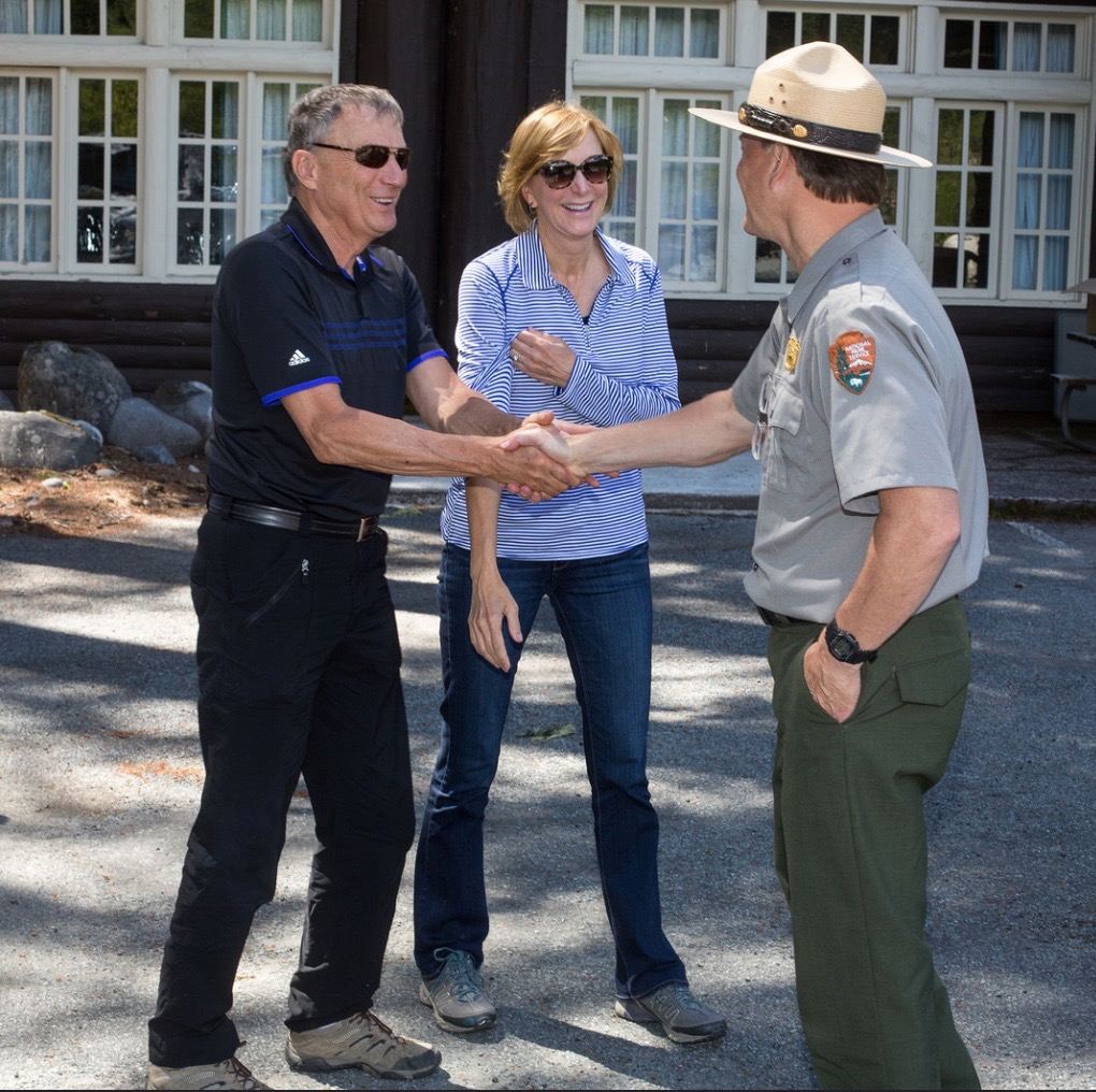 A warm welcome from Mt. Rainier National Park Superintendent Randy King, who has served in six national parks in 40 years of service in the National Parks.