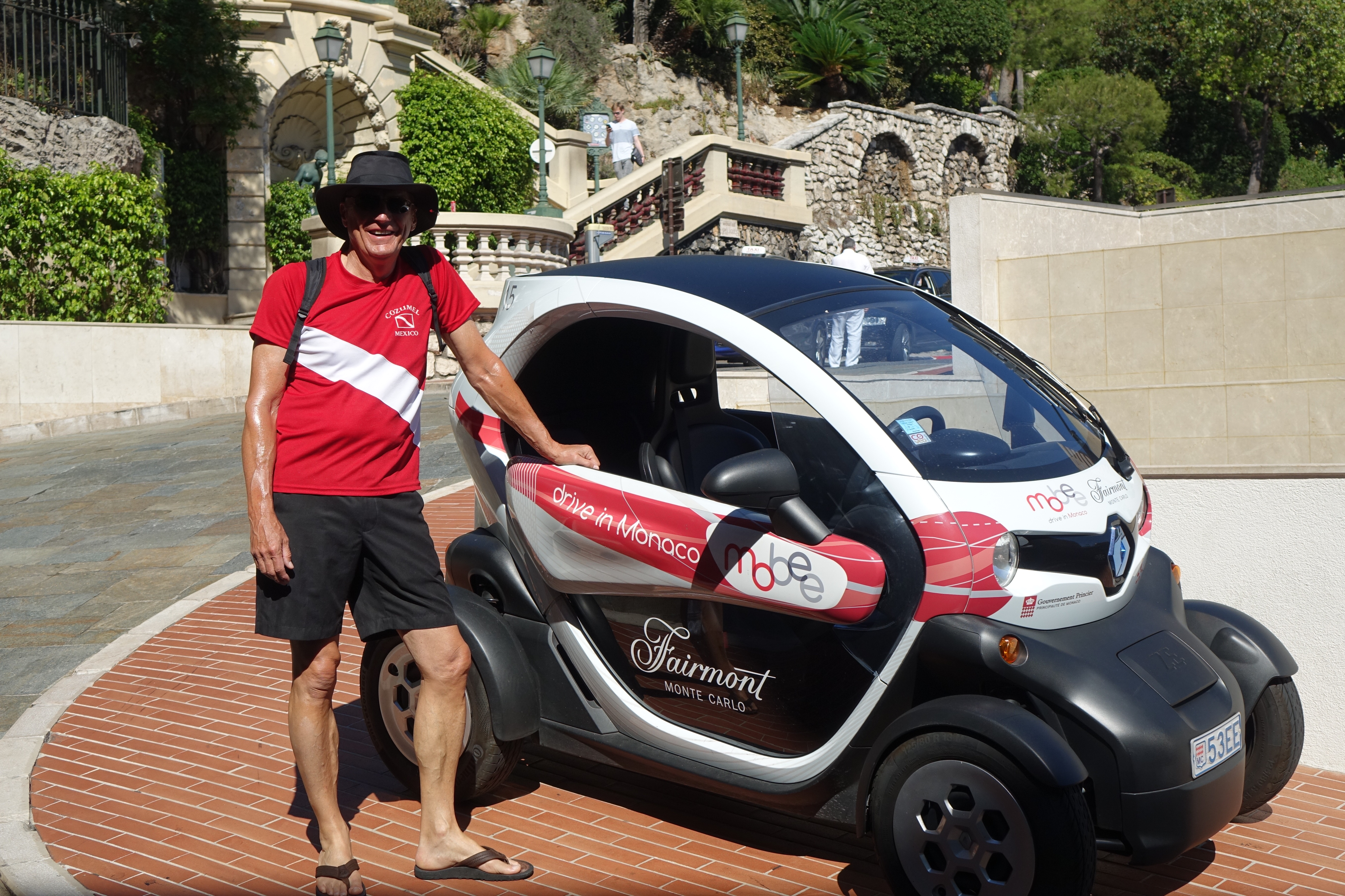 Monaco on the Côte d'Azur - Where are Sue & Mike?