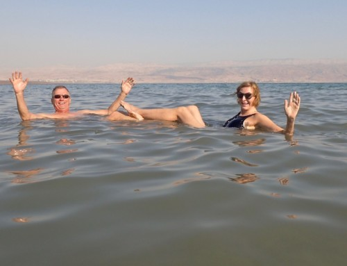 The Dead Sea, The Sea of Galilee and the River Jordan