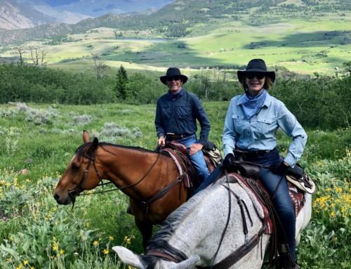 Riding the Range in Montana