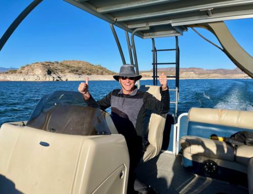 Boating in Lake Pleasant, AZ