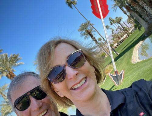 Golfing in Palm Springs, CA