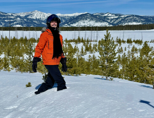 Snowmobiling in Yellowstone, MT