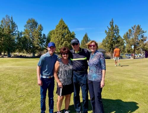 Golfing in Redmond, OR